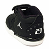 Details zu Nike Air Jordan Groß Fund Td Schwarz Weiß Gold Junge Kleinkind Schuhe CD9650 007