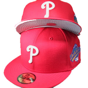 6b31d87e524 PHILADELPHIA PHILLIES 59Fifty New Era Fitted Hat with 1993 ...