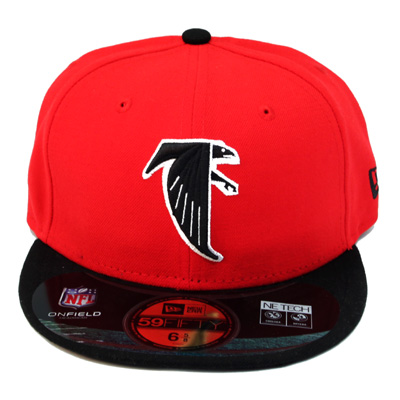 6c5ec8523 ATLANTA FALCONS 59fifty NEWERA NFL FITTED HAT for YOUTH – booton