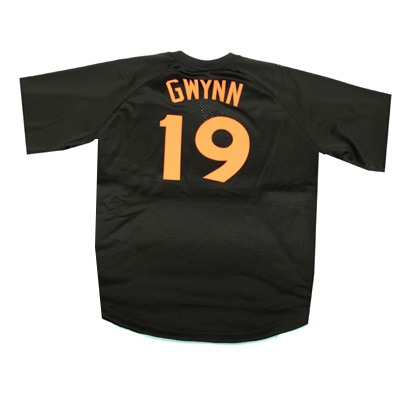 the best attitude f73f2 62f9f SANDIEGO PADRES MITCHELL & NESS # 19 TONY GWYNN 1985 COOPERSTOWN COLLECTION  MESH BATTING PRACTICE JERSEY