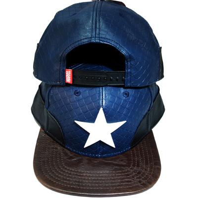 MARVEL CAPTAIN AMERICA PU SNAPBACK HAT – booton 8db2f5f04a3