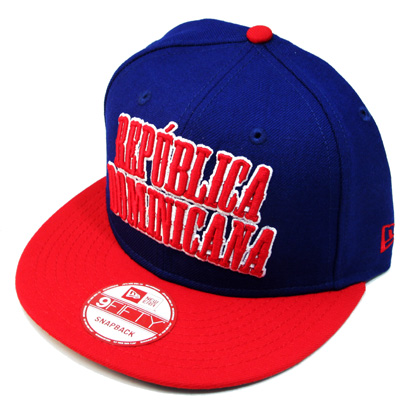 45fd50ace4b4e DOMINICAN REPUBLIC 9Fifty NEWERA country wordmark snapback Hat – booton