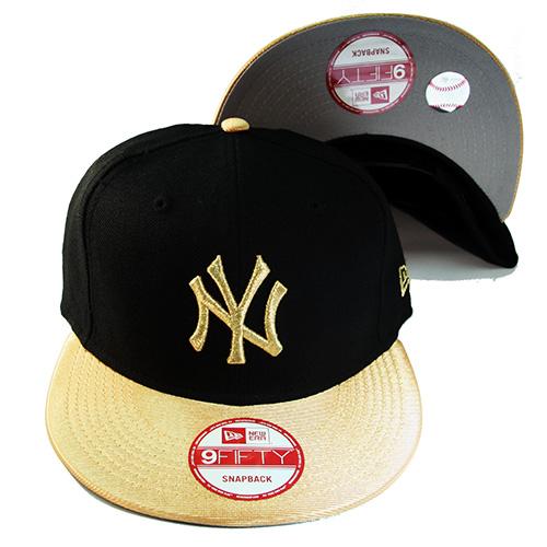 New Era MLB New York Yankees Gold badge Snapback Hat Air Jordan ... 80a5d7ba513