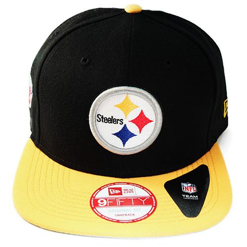 21ef283ba68 New Era NFL Pittsburgh Steelers classic Snapback Hat 2tone Color Original  Fit – booton