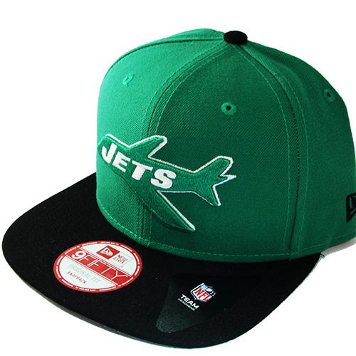 cef772556cf New Era NFL New York Jets Vintage Snapback Hat 2tone Color Original ...