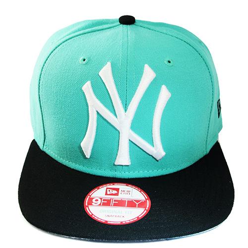 e3a6aaefca2 New Era New York Yankees Snapback Hat Mint Blue Jordan 4 6 Green ...