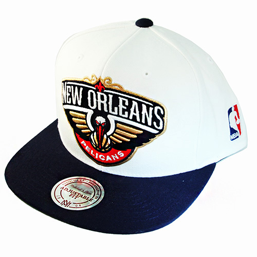 on sale d95e7 a4ddc Mitchell   Ness NBA New Orleans Pelicans Snapback Hat Classic X ...