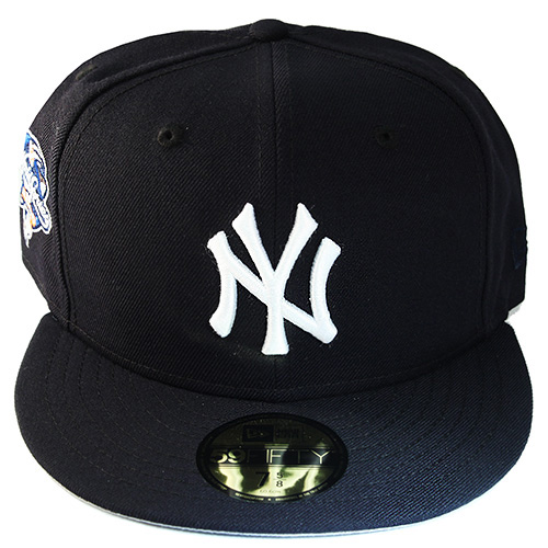 New Era MLB New York Yankees 5950 Fitted Hat 2000 World series Side ... b9a4641f5442
