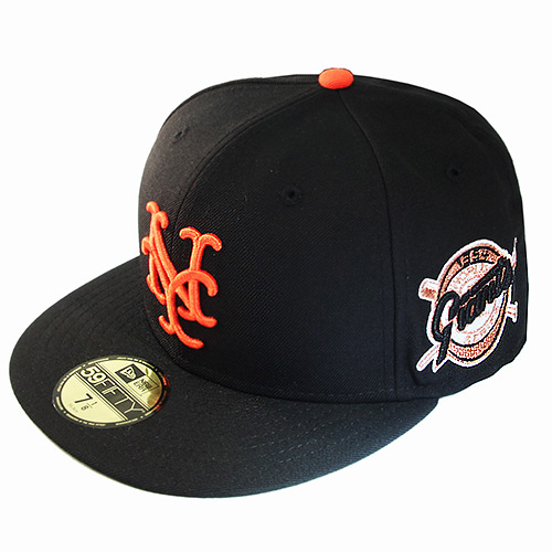 fe533bb83d8 New Era MLB New York Giants 5950 Fitted Hat 1954 World series Patch ...