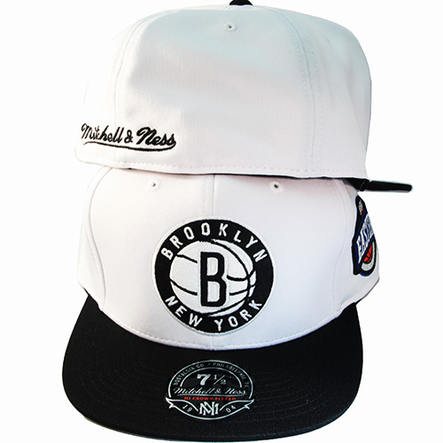 135b0775910 Mitchell   Ness NBA Brooklyn Nets Fitted Hat Match Air Jordan 11 Low ...