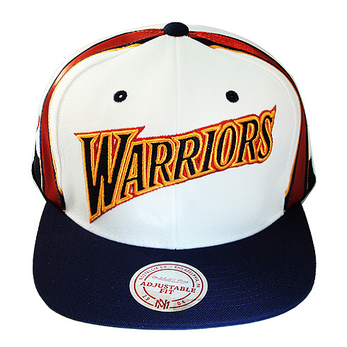 32c225ab090ba5 Mitchell & Ness Golden State Warriors Hardwood Classic Snapback Hat ...
