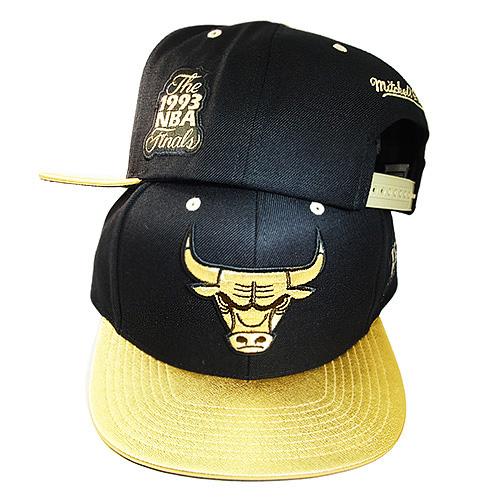 2983d93a9f30 Mitchell   Ness Chicago Bulls Snapback Hat Air Jordan 14 DMP ...