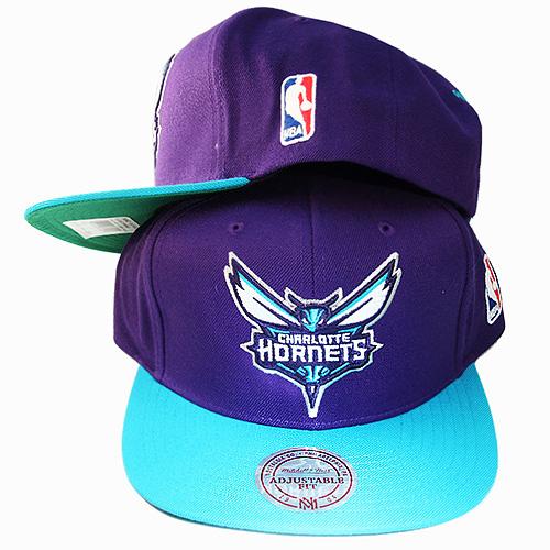 90accf93d0e619 Mitchell & Ness NBA Charlotte Hornets Snapback Hat Air Jordan Retro ...