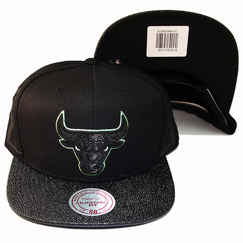 Mitchell   Ness Chicago Bulls Snapback Hat Air Jordan 13 Altitude ... 5f88d21d41a
