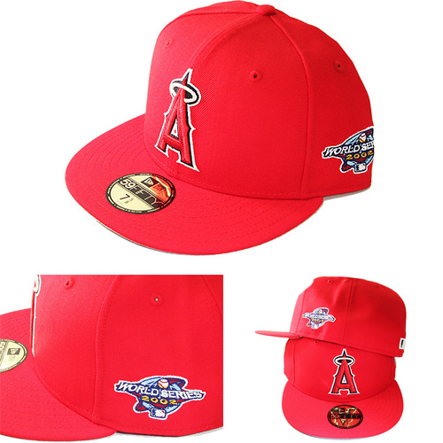 brand new 83a38 22b09 New Era Los Angeles Angels Snapback Hat 2002 World Series Game Side ...