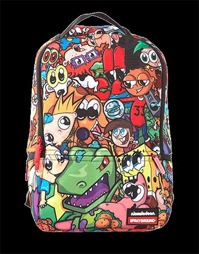 a06835128444 Sprayground Anime 90 S Nikelodeon Backpack Cartoon Urban School Hip ...