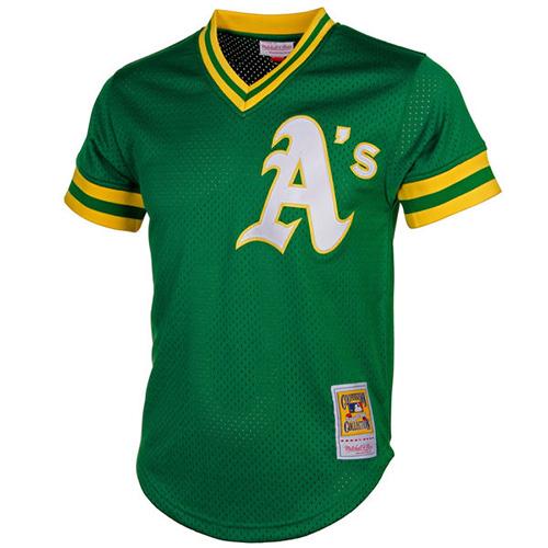 2c9709eac Mitchell   Ness Oakland Athletics Reggie Jackson Cooperstown ...