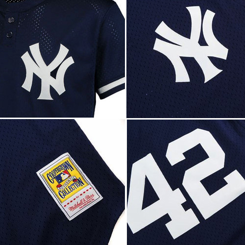 newest 1c7de af97b Mitchell & Ness MLB New York Yankees Mariano Rivera #42 Cooperstown BP  Jersey